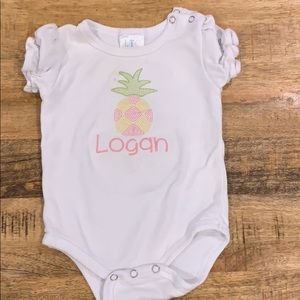 "Other - ""Logan"" onesie"